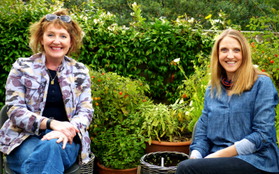 Growth in the garden thanks to Petersfield's radio team