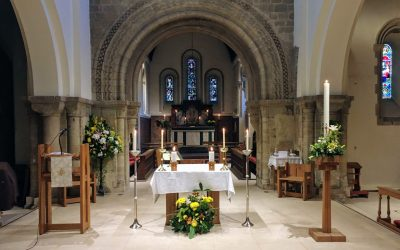 Easter Eucharist service from St Peter's Church