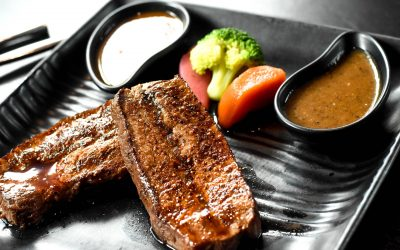 Teriyaki sauce with your steak? Couldn't be easier.