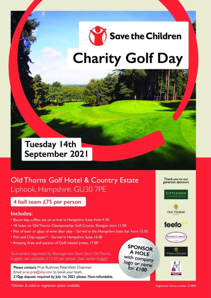 Save the Children Golf Day