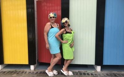 The Lido Ladies Visit Petersfield's Open Air Pool