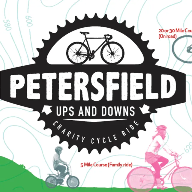 Petersfield Ups and Downs logo