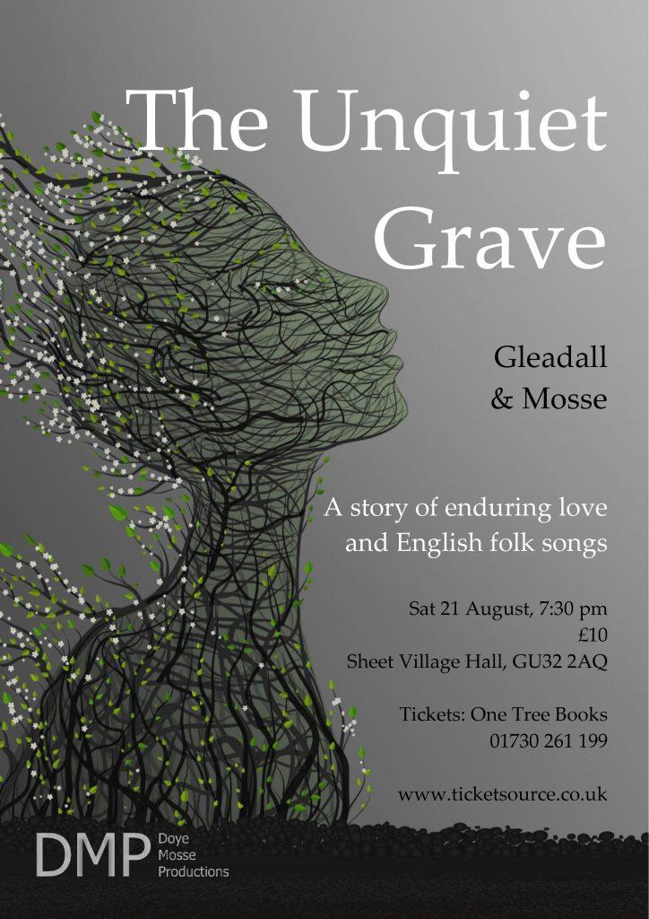 The Unquiet Grave flyer