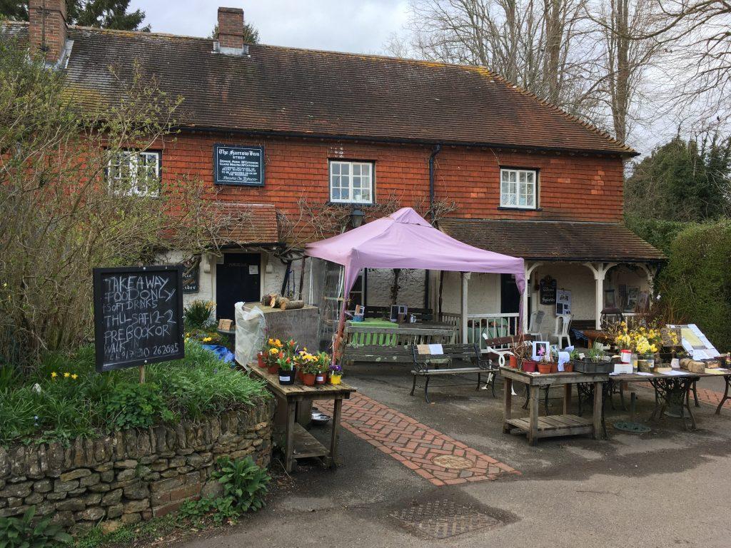 The Harrow Inn in Steep