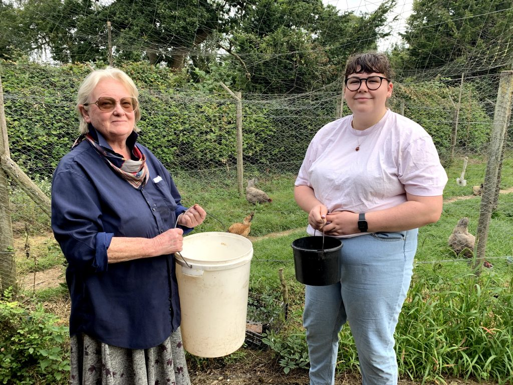 Clare McCutcheon and Harriet Plant at The Harrow