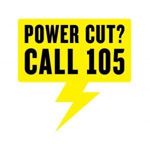 Power cut - call 105