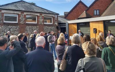 Gyles Brandreth addresses museum teams