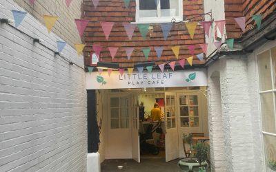 Little Leaf Play Cafe entrance